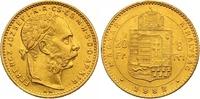 8 Gulden = 20 Francs Gold 1888  KB Haus Habsburg Franz Joseph I. 1848-1... 290,00 EUR  zzgl. 7,00 EUR Versand