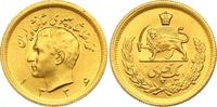 Pahlavi SH Gold 1336 Iran Mohammed Reza Pahlevi, Shah 1941-1979. Fast S... 350,00 EUR  zzgl. 7,00 EUR Versand