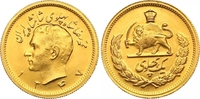 Pahlavi SH Gold 1347 Iran Mohammed Reza Pahlevi, Shah 1941-1979. Fast S... 350,00 EUR  zzgl. 7,00 EUR Versand