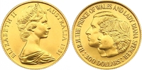 200 Dollars Gold 1981 Australien Elisabeth II. Seit 1952. Polierte Platte  415,00 EUR  zzgl. 7,00 EUR Versand