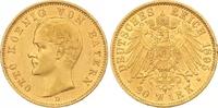 20 Mark Gold 1895  D Bayern Otto 1886-1913. Vorzüglich  365,00 EUR  zzgl. 7,00 EUR Versand