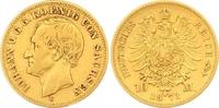 10 Mark Gold 1873  E Sachsen Johann 1854-1873. Sehr schön  330,00 EUR  zzgl. 7,00 EUR Versand