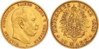 10 Mark Gold 1880  A Preußen Wilhelm I. 1861-1888. Sehr schön - vorzügl... 195,00 EUR  zzgl. 7,00 EUR Versand