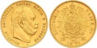 10 Mark Gold 1873  A Preußen Wilhelm I. 1861-1888. Sehr schön - vorzügl... 195,00 EUR  zzgl. 7,00 EUR Versand