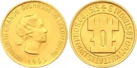 20 Franken Gold 1963 Luxemburg Charlotte 1919-1964. Stempelglanz  260,00 EUR  zzgl. 7,00 EUR Versand