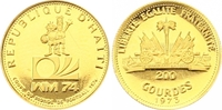 200 Gourdes Gold 1973 Haiti Republik nach 1863. Polierte Platte  150,00 EUR  zzgl. 7,00 EUR Versand