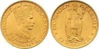 10 Kronen Gold 1910 Norwegen Haakon VII. 1905-1957. Vorzüglich +  1250,00 EUR kostenloser Versand