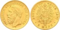 5 Mark Gold 1877  G Baden Friedrich I. 1856-1907. Sehr schön - vorzügli... 650,00 EUR  zzgl. 7,00 EUR Versand