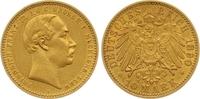 10 Mark Gold 1890  A Mecklenburg-Schwerin Friedrich Franz III. 1883-189... 975,00 EUR  zzgl. 7,00 EUR Versand