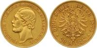 20 Mark Gold 1874  A Mecklenburg-Strelitz Friedrich Wilhelm 1860-1904. ... 7850,00 EUR kostenloser Versand