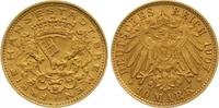 10 Mark Gold 1907  J Bremen  Vorzüglich  2150,00 EUR kostenloser Versand