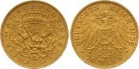 20 Mark Gold 1906  J Bremen  Winziger Randfehler, vorzüglich  2450,00 EUR kostenloser Versand