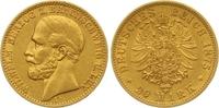 20 Mark Gold 1875  A Braunschweig Wilhelm 1830-1884. Sehr schön - vorzü... 1450,00 EUR kostenloser Versand