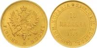 10 Markkaa Gold 1879  S Finnland Alexander II. von Russland 1855-1881. ... 375,00 EUR  zzgl. 7,00 EUR Versand