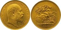 Five Pounds Gold 1902 Großbritannien Edward VII. 1901-1910. Winziger Ra... 3250,00 EUR kostenloser Versand