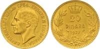 20 Dinara Gold 1925 Jugoslawien Alexander I. 1921-1934. Vorzüglich - St... 450,00 EUR  zzgl. 7,00 EUR Versand