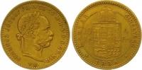 4 Gulden = 10 Francs Gold 1886  KB Haus Habsburg Franz Joseph I. 1848-1... 245,00 EUR  zzgl. 7,00 EUR Versand