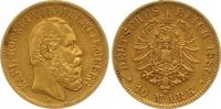 10 Mark Gold 1880  F Württemberg Karl 1864-1891. Winziger Randfehler, s... 225,00 EUR  zzgl. 7,00 EUR Versand