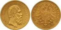 20 Mark Gold 1873  F Württemberg Karl 1864-1891. Sehr schön - vorzüglic... 365,00 EUR  zzgl. 7,00 EUR Versand