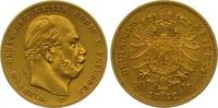 10 Mark Gold 1872  C Preußen Wilhelm I. 1861-1888. Fast vorzüglich  225,00 EUR  zzgl. 7,00 EUR Versand