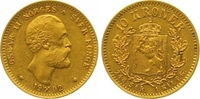 10 Kronen Gold 1902 Norwegen Oscar II. 1872-1905. Vorzüglich  2250,00 EUR kostenloser Versand