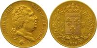 40 Francs Gold 1818  W Frankreich Ludwig XVIII. 1814, 1815-1824. Winzig... 495,00 EUR  zzgl. 7,00 EUR Versand