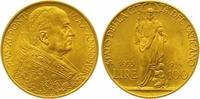 100 Lire Gold 1933 Italien-Vatikan Pio XI. 1922-1939. Vorzüglich - Stem... 385,00 EUR  zzgl. 7,00 EUR Versand