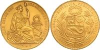 100 Soles Gold 1965 Peru Republik seit 1821. Vorzüglich - Stempelglanz  2100,00 EUR kostenloser Versand