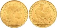 10 Francs Gold 1912  A Frankreich Dritte Republik 1870-1940. Vorzüglich  185,00 EUR  zzgl. 7,00 EUR Versand