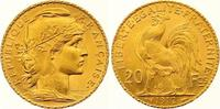 20 Francs Gold 1912  A Frankreich Dritte Republik 1870-1940. Vorzüglich... 265,00 EUR