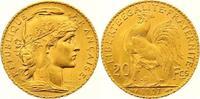 20 Francs Gold 1907  A Frankreich Dritte Republik 1870-1940. Fast Stemp... 285,00 EUR