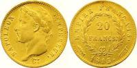 20 Francs Gold 1813 Frankreich Napoleon I. 1804-1814, 1815. Winziger Ra... 450,00 EUR