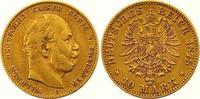 10 Mark Gold 1878  C Preußen Wilhelm I. 1861-1888. Sehr schön  200,00 EUR