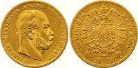 10 Mark Gold 1872  A Preußen Wilhelm I. 1861-1888. Sehr schön  175,00 EUR