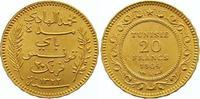 20 Francs Gold 1904 (AH 1322) Tunesien Französisches Protektorat. Vorzü... 245,00 EUR