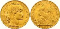 20 Francs Gold 1910  A Frankreich Dritte Republik 1870-1940. Vorzüglich... 245,00 EUR