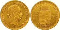 4 Gulden = 10 Francs Gold 1887  KB Haus Habsburg Franz Joseph I. 1848-1... 265,00 EUR