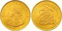 50 Pesos Gold 1970 Chile Republik. Seit 1818. Seltener Jahrgang. Fast S... 450,00 EUR