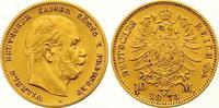 10 Mark Gold 1873  A Preußen Wilhelm I. 1861-1888. Sehr schön +  185,00 EUR  zzgl. 7,00 EUR Versand