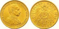 20 Mark Gold 1913  A Preußen Wilhelm II. 1888-1918. Vorzüglich - Stempe... 325,00 EUR