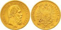 20 Mark Gold 1873  F Württemberg Karl 1864-1891. Winziger Randfehler, s... 355,00 EUR  zzgl. 7,00 EUR Versand