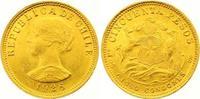 50 Pesos Gold 1926 Chile Republik. Seit 1818. Winziger Randfehler, vorz... 425,00 EUR  zzgl. 7,00 EUR Versand