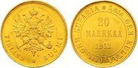 20 Markkaa Gold 1912  S Finnland Nikolaus II. von Russland 1894-1917. F... 545,00 EUR  zzgl. 7,00 EUR Versand
