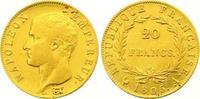 20 Francs Gold 1806  A Frankreich Napoleon I. 1804-1814, 1815. Sehr sch... 285,00 EUR
