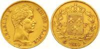 40 Francs Gold 1830  A Frankreich Charles X. 1824-1830. Sehr schön +  550,00 EUR  zzgl. 7,00 EUR Versand