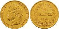 20 Francs Gold 1841  A Frankreich Louis Philippe I. 1830-1848. Sehr sch... 275,00 EUR  zzgl. 7,00 EUR Versand