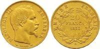 20 Francs Gold 1853  A Frankreich Napoleon III. 1852-1870. Fast vorzügl... 245,00 EUR  zzgl. 7,00 EUR Versand