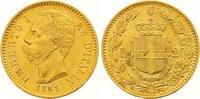 20 Lire Gold 1881  R Italien-Königreich Umberto I. 1878-1900. Fast Stem... 285,00 EUR  zzgl. 7,00 EUR Versand