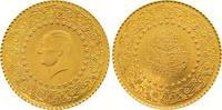 50 Piaster Gold 1962 Türkei Republik. Stempelglanz  145,00 EUR  zzgl. 7,00 EUR Versand