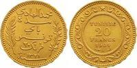 20 Francs Gold 1904 (AH 1321) Tunesien Französisches Protektorat. Vorzü... 285,00 EUR  zzgl. 7,00 EUR Versand